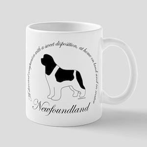 Devoted Landseer Newf Mug