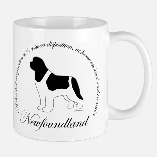 Devoted Landseer Newf Mug