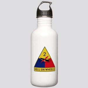 Hell On Wheels Stainless Water Bottle 1.0L