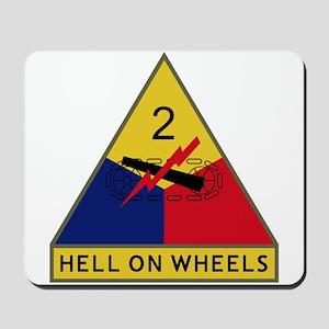 Hell On Wheels Mousepad