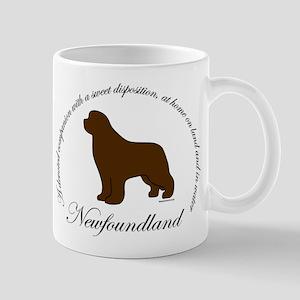 Devoted Brown Newf Mug