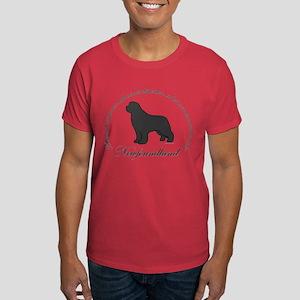 Devoted Gray Newf Dark T-Shirt