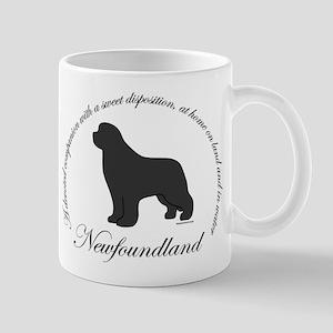 Devoted Gray Newf Mug