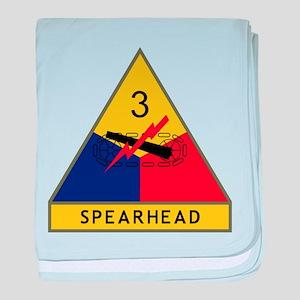 Spearhead baby blanket