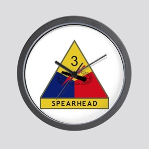 Spearhead Wall Clock