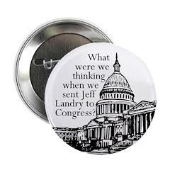 Jeff Landry: A Mistake in Congress button