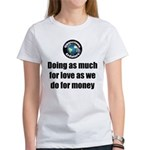 As Much for Love Women's Classic T-Shirt