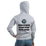 As Much for Love Women's Zip Hoodie