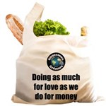 As Much for Love Reusable Shopping Bag