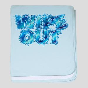 Wipeout-Splash baby blanket