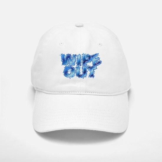 Wipeout-Splash Baseball Baseball Cap