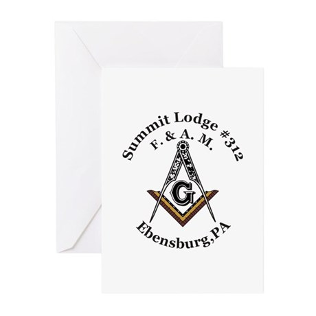 Summit Lodge #312 Greeting Cards (Pk of 10)
