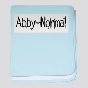 Abby Normal 2 baby blanket