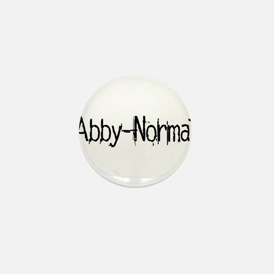 Abby Normal 2 Mini Button