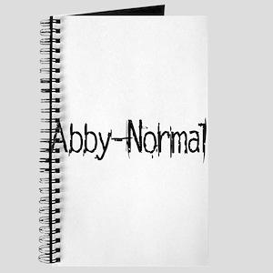 Abby Normal 2 Journal
