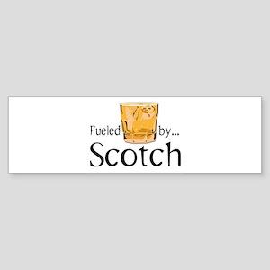 Fueled by Scotch Sticker (Bumper)
