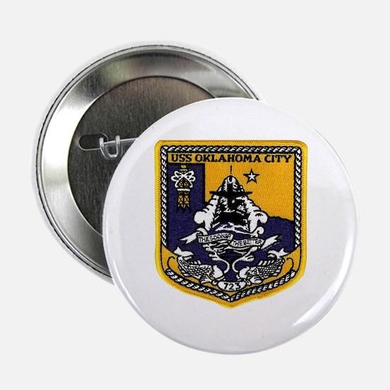 USS Oklahoma City SSN 723 Button