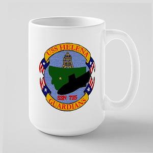 USS Helena SSN 725 Large Mug