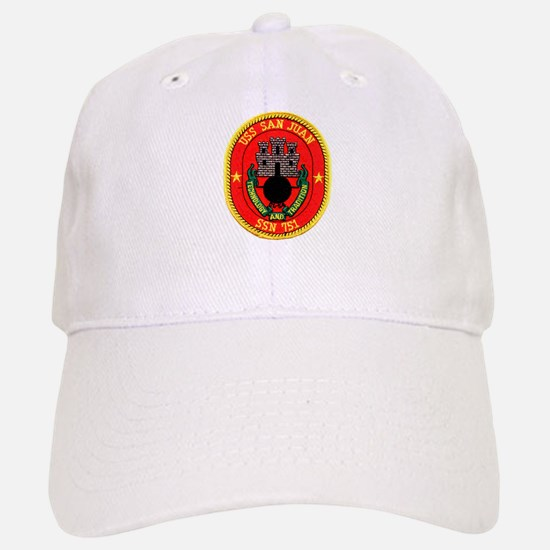 USS San Juan SSN 751 Baseball Baseball Cap