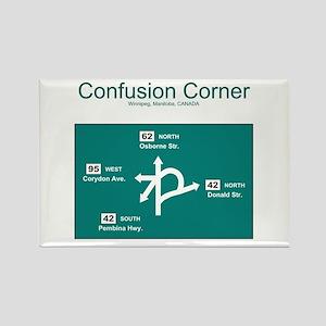 Confusion Corner Rectangle Magnet