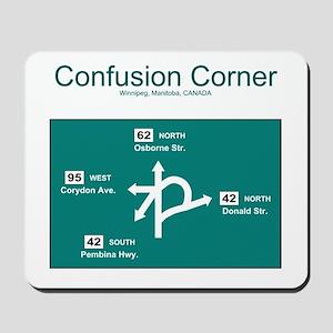 Confusion Corner Mousepad