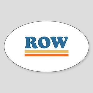 ROW Sticker (Oval)