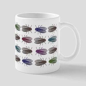 Fruit Fly Antique Engraving Mug