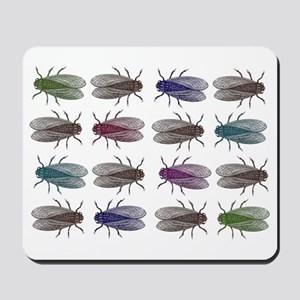 Fruit Fly Antique Engraving Mousepad