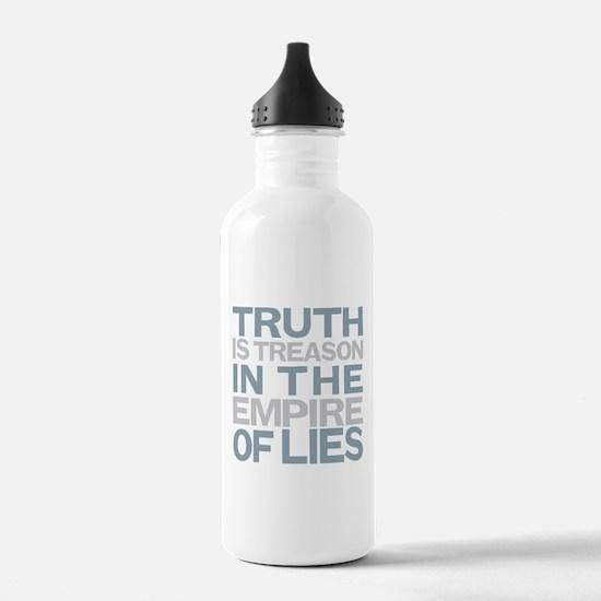 Truth is Treason Water Bottle