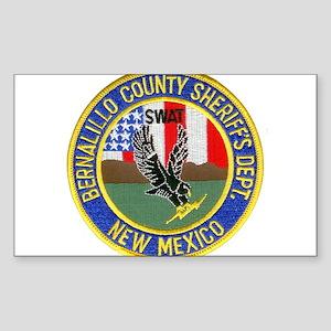 Bernalillo Sheriff SWAT Sticker (Rectangle)