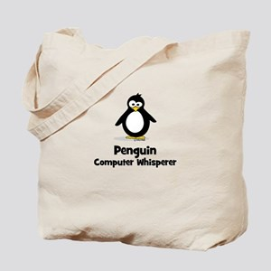 Penguin Computer Whisperer Tote Bag