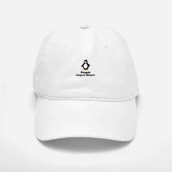Penguin Computer Whisperer Baseball Baseball Cap
