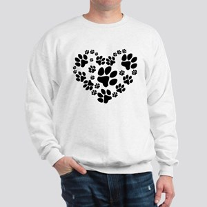 Paws Heart Sweatshirt