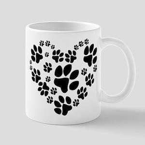 Paws Heart Mug