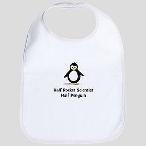 Half Rocket Scientist Half Pe Bib