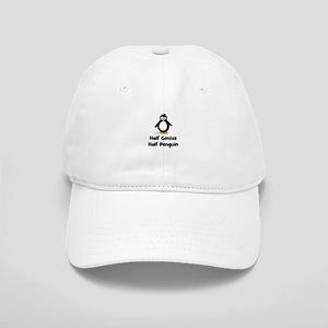 Half Genius Half Penguin Cap