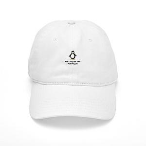 2235d402fba66 Linux Penguin Hats - CafePress
