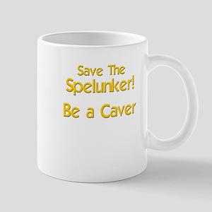 Funny caver spelunker Mug