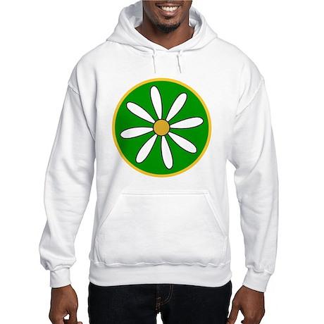 Daisy Green Hooded Sweatshirt