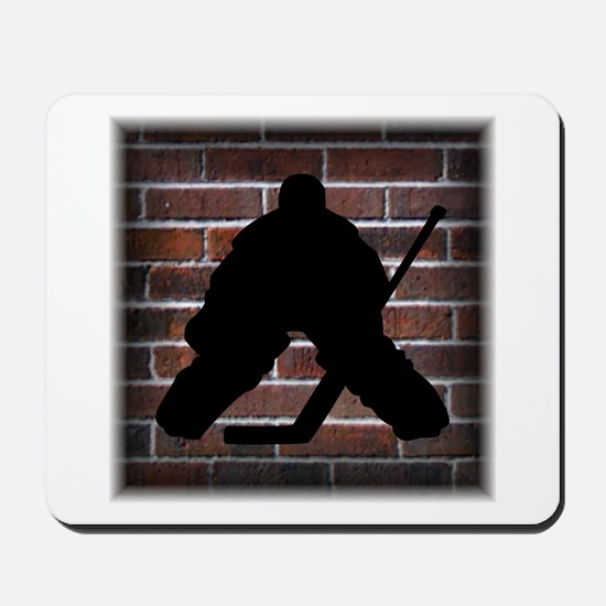 Hockey Goalie Mousepad
