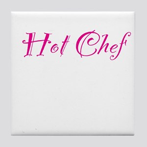 Hot Chef Tile Coaster