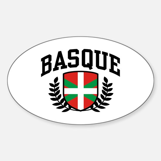 Basque Sticker (Oval)
