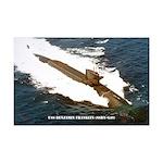 USS BENJAMIN FRANKLIN Mini Poster Print