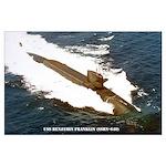 USS BENJAMIN FRANKLIN Large Poster