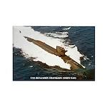 USS BENJAMIN FRANKLIN Rectangle Magnet