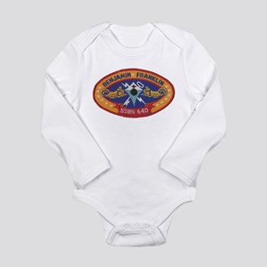 USS BENJAMIN FRANKLIN Long Sleeve Infant Bodysuit