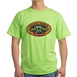 USS BENJAMIN FRANKLIN Green T-Shirt
