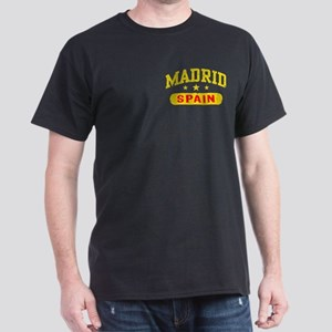 Madrid Spain Dark T-Shirt