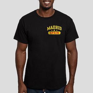Madrid Spain Men's Fitted T-Shirt (dark)