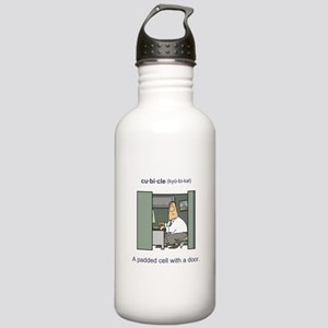 Cubicle (male) Stainless Water Bottle 1.0L